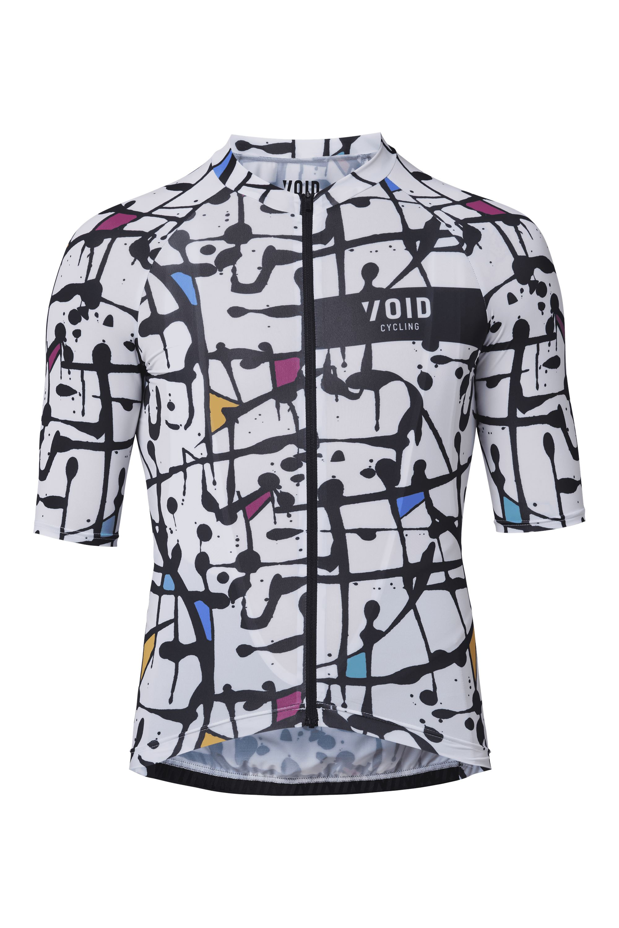 VOID ABSTRACT JERSEY WHITE